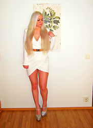 Jenna Juliet -  - White party dress