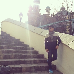 DADA FAB - Billabong Cap, Forever 21 Knitted Sweater, Zara Jeans, Nike Running Shoes - Lotte World