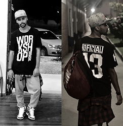 Felippe Ferreira - Zero18 Cap, Workshop Brasil T Shirt 13 Edition - I'm a Dancer in my OWN world !
