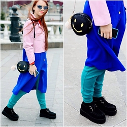 Jenny Danilkova - Chic Wish Boots, Asos Pants, Christian Dior Sunglasses - Smile!