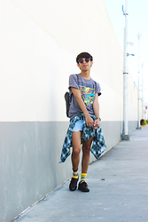 Rinx Martinee - Looney Tunes Shirt, Christian Seriano Oxford Shoes - KEEP IT OLD SCHOOL