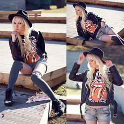 Oksana Orehhova - Style Moi Sweatshirt, Style Moi Jacket - I CAN'T GET NO SATISFACTION