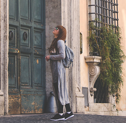 Wioletta M - New Look Shoes, New Look Backpack - Exploring Rome < fashion-utopia.com