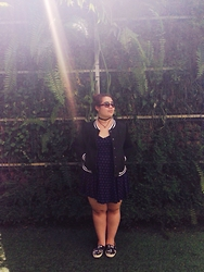 Melissa Karim - Asos Shoe, Cotton On Dress, Supre Jacket, Chocker, Asos Sunglasses - Imagination infatuation