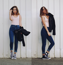 Isabella Wight - Tobi Top, Ziggy Denim Jeans, Converse Shoes - BABYDOLL