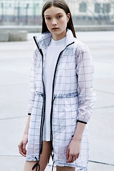 Laura Lambert - Without Walls Lightweight Cocoon Coat - The Next Match @UrbanOutfitters #fresh #clean #minimal
