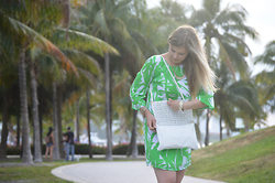 Jillian Goltzman -  - Lilly Pulitzer in Palm Tree Paradise