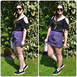 Sally W. - H&M A Line Skirt, Topshop Pumps - Blithe