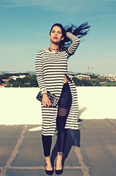 Rosana Vieira - Bershka Shirt/Dress, Primark Bag (Old), Bershka Necklace (Old), Shoes (Old) - Birthday's look