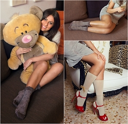 ManueLita - Liu Jo Sweater, Bugie By Coccoli Socks, Bugie By Coccoli Socks, Tory Burch Shoes - Coccole e Bugie ......