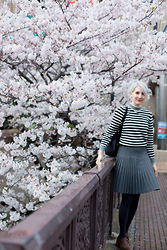 Kathryn Bagley - Sweater, Japan, Skirt, Vinage, Thrifted - Breton