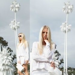 Julia Roga -  - White Palm Trees in Los Angeles