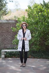 Kelsey Bang -  - Graphic Blazer
