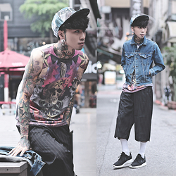 IVAN Chang - Tastemaker 達新美 Top, Tastemaker 達新美 Snapback, Tastemaker 達新美 Pants, Levi's® Vintage Jacket, Nike Shoes - 280415 TODAY STYLE