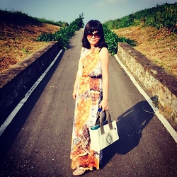 Emma Wu - H&M Maxi Dress - The end of road