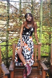 Laurelle Kamara - New Look Top, Dr Martins Boots, Topshop Jewelry - Earth