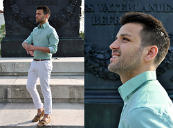 Marc Galobardes - H&M Shirt, Zara Trousers, Zara Shoes - OBELISC