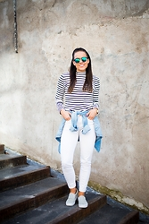Janni Ehari -  - STRIPES AND WHITE