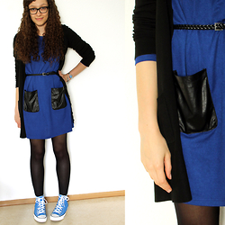 Sabrina X - H&M Cardigan, Ebay Dress - .0008
