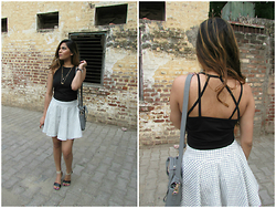 Pooja Mittal - Stalkbuylove High Checks Co Ords, Stalkbuylove High Checks Co Ords - Day Glam Look