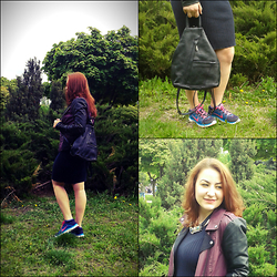 Christiné F - Nike Sneakers, Vero Moda Jacket, Bag - Perfect combination I