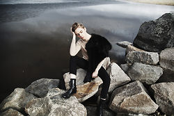 Mikko Puttonen - Onar Studios Fur, All Saints Trousers, Boots - Roots