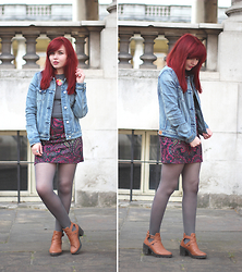 Paige Joanna Calvert - Mango Denim Jacket - London exploring.