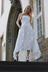 Vanessa Billie Jill Jean - Hm Prom Dress, Hm Plateau Sandals - LOCKED OUT OF HEAVEN