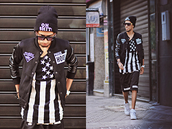 Hamza Rouah - Sheinside Trouble Maker, Givenchy Pyrex23, Nike Air Force - Trouble Maker