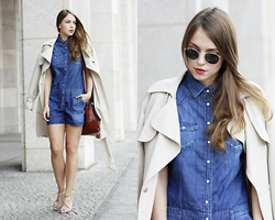Dominique B. - Pepe Jeans Onepiece - Total Denim