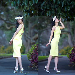 Cissy Zhang - Forcast Yellow Dress - Nature's scent