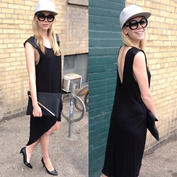 Noir Girl - Chanel, Chanel, Bcbg Backless Dress - Monday smiles in the bcbg backless