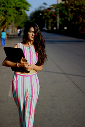 LipiGanatra -  - CANDY Crop and Pants: THEBRIME.COM