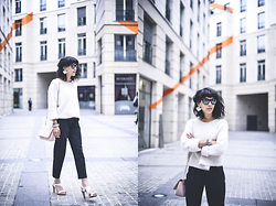 Leeloo P - Top Zara, Bag Anne Fontaine, Shoes San Marina - White mood