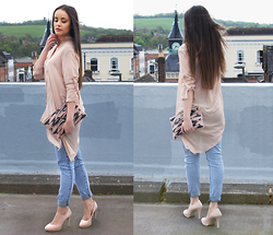 Savina Official - Sheinside Shirt, Forever 21 Jeans, H&M Heels - Marshmallow is the new black!