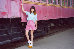 Amy Roiland - Cheyann Benedict Skirt - Train Game