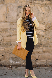 Emma MAS - New Look Emma Loves Fashion, Zara Emma Loves Fashion, Stradivarius Emma Loves Fashion, Pull & Bear Emma Loves Fashion, Bershka Emma Loves Fashion - YELLOW AND STRIPES