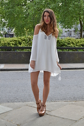 Gemma Talbot - Missguided Dress, Topshop Cloga - Boho Dreaming