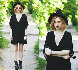 Kristina Magdalina - Sheinside Dress - Boho today.