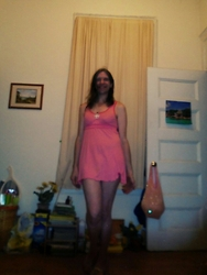 Gina -  - Pink Nightie
