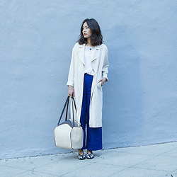 Ariel Lin - H&M Duster Coat, Zara Pants, French Connection Bag - GOOD DAY