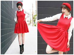 Amy Roiland - Oasap Dress - Can you whisper?