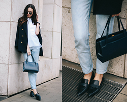 Bea G - Blazer, Top, Jeans, Bag, Shoes - On Point