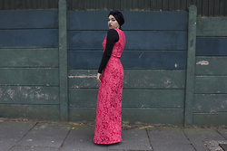 Saima Chowdhury - Chi Bailey Dress - THE CORAL WEDDING