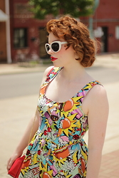 Cassidy Graves - Modcloth Good Enough To Eat Dress - Burger Queen