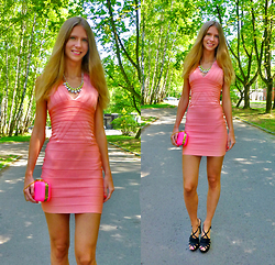 Ania Zarzycka - Jollychic Dress - Only do what your heart tells you / Win a shirt on my blog!!