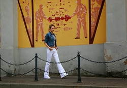 Flexy Fashion -  - FLARE JEANS
