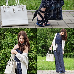 Denise Assis - Aldo Sandals, Pull & Bear White And Silver Cardigan, Lefties Crop Top, Zara Pants - You spot me!
