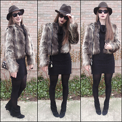 Pauline - Forever 21 Hat, Forever 21 Faux Fur - Way Back Wednesday or Cookie from Empire