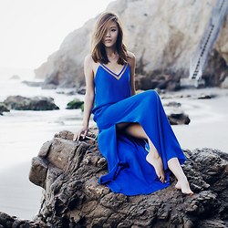 Jenny Tsang - Dress - Azul